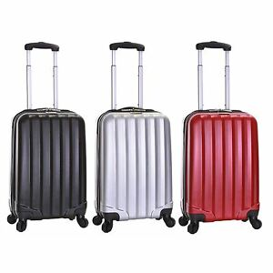 Ryanair Hard Side Cabin Approved Spinner Trolley Hand Luggage ...