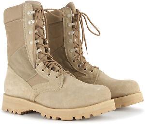 Desert Tan Tactical Desert Boots 8