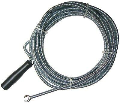 Abflussreiniger Sanitärspirale Rohrreinigungsfeder Rohrspirale 3-5 10 Meter