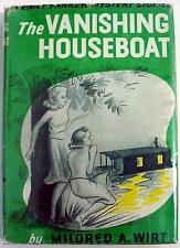 Penny Parker mystery The Vanishing Houseboat #2 Mildred Wirt hcdj Format 2 thin