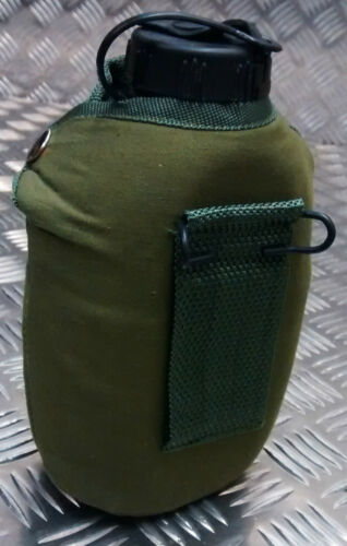 Replacement Military Style Water Bottle Carrier//Cover Green NATO 0.5L NEW
