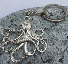 Cthulhu Key Ring Keychain Lovecraft Steampunk Necronomicon