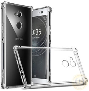 For-Sony-Xperia-XA2-XZ2-XA1-L1-XZ1-XA-Case-Crystal-Clear-TPU-Protective-Cover
