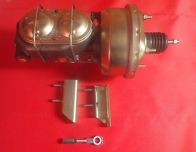 1964 1965 1966 ford mustang brake booster  new dual bowl  FOR AUTO TRANSMISSION