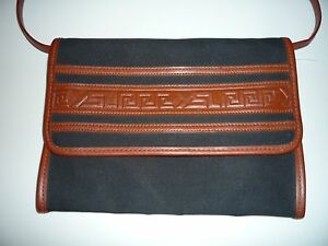 d6c9001a193 Image is loading YSL-Yves-Saint-Laurent-Vintage-Tribal-Clutch-Convertible-