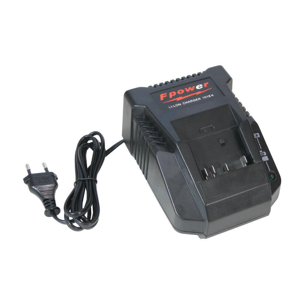 Premium Akku 14,4V - 18V Schnellladestation für Bosch 3661802 36618B 37618