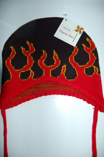 CHILD FLAME HAT rock punk skate surf emo biker tattoo NEW ***CLEARANCE*** BABY