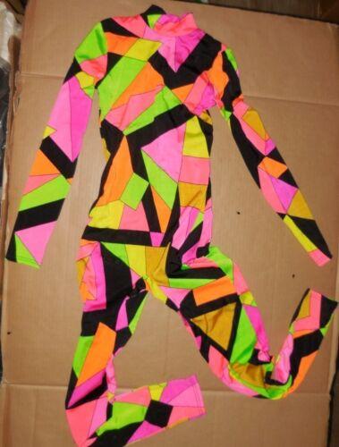 NWT Creature Dance Unitard Geometric Print Cirque 2 Color Ways Ch//ladies szs