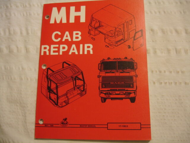 Mack Trucks Factory Body Shop Repair Service Master Manual
