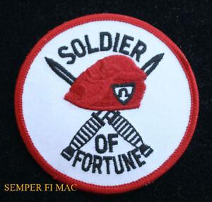 4cdfa35af61fb SOLDIER OF FORTUNE HAT PATCH OMEGA FORCE BERET DAGGER PIN UP ...