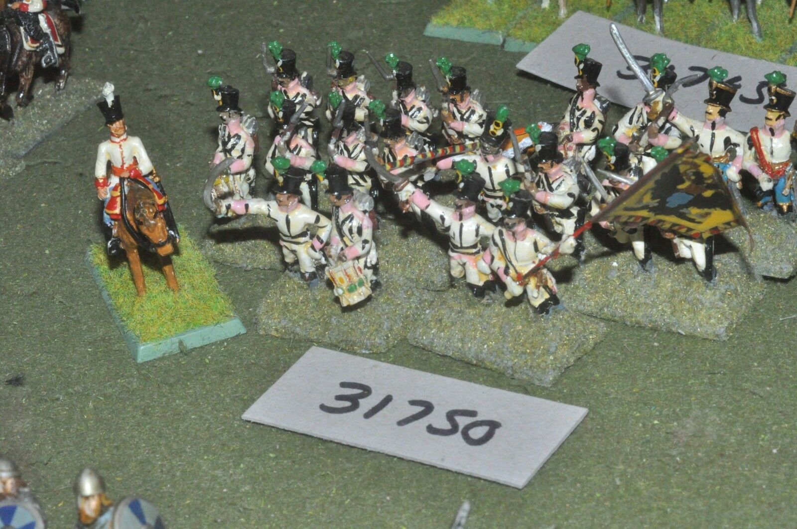 25mm napoleonic   austrian - line 21 figures - inf (31750)
