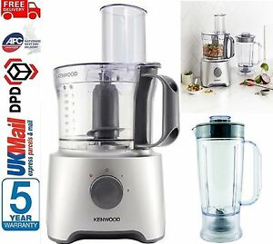 Kenwood Multipro Compact Fdp301wh Food Processor Silver