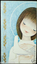 OLD FIRST COMMUNION REMEMBRANCE HOLY CARD ANDACHTSBILD SANTINI SEE MY SHOP C696