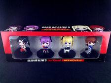 Dead or Alive 5 Last Round Momiji Ayane Marie Kasumi Mini Chara Figure set New