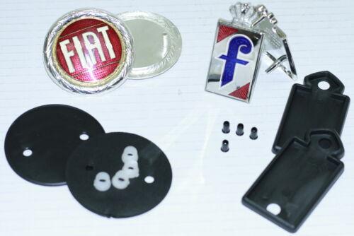 Metall TOP Fiat /& Pininfarina Embleme im Set inklusive Zubehör