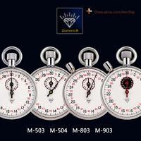 Diamond Stopwatch Mechanical Watches Timer Brass Chromed 13 Jewels Professional