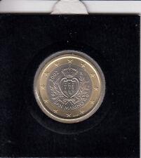 San Marino 1 Euro 2002 Kursmünze bankfrisch - in Münzrähmchen