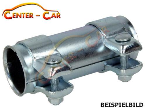 Auspuff Rohrverbinder Schelle Rohr Doppelschelle Verbinder Ø 55x125mm 114-956