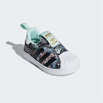 Blue Gazelle 360 I Chaussures de bébé Adidas AQ1092 Toddler Infant
