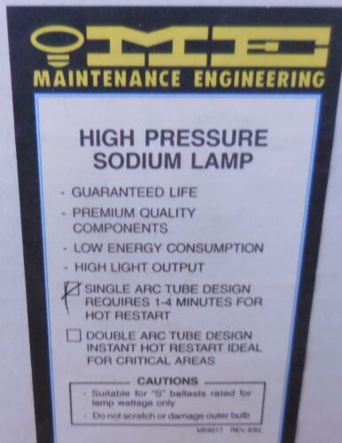 New High Pressure Sodium Lamp S68 50W Light Bulb Lot of 2