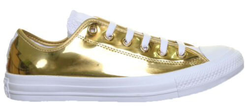 Chuck All Taylor Gold Trainers Unisex Converse Leather Faux Star wqRdwE