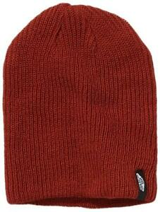 caf36f541 Details about BNWT NEW BOYS VANS MISMOEDIG KNITTED BEANIE HAT WINTER YOUTHS  JUNIOR RED THICK