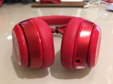 Authentic Beats by Dr. Dre Solo2 Headband Headphones - Red - Good Condition