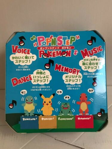 TAKARA TOMY NEW from Japan Zenigame Details about  /Pokemon Pop/'n Step Pokemon Squirtle