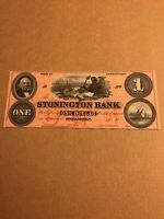The Stonington Bank, Connecticut $1