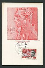 TIMOR MK 1955 NOBREGA BRASIL SAO PAULO MAXIMUMKARTE MAXIMUM CARD MC CM c9052