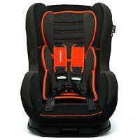 Nania Comfort + Recliner Car Seat Forward Facing 9m To 4yrs Rrp £110 Orange Sp