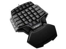 One Handed Gaming Keyboard Computer Keypad for CS WOW Gamer Tastatur Spiel