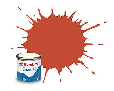 HUMBROL (14ml TIN) MATT & SATIN ENAMELS #1-105 (PART I)