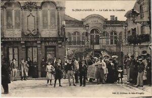 CPA AK St-JEAN-d'ANGÉLY - Le Café de la Comédie (47582)