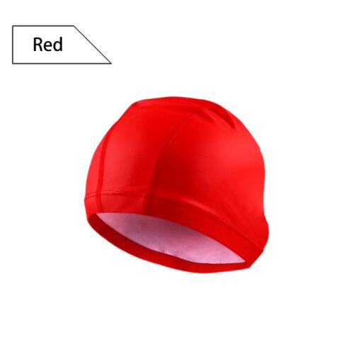 Adult Silicone Swimming Cap Long Hair Large Hat Waterproof UK Latest Design Cap