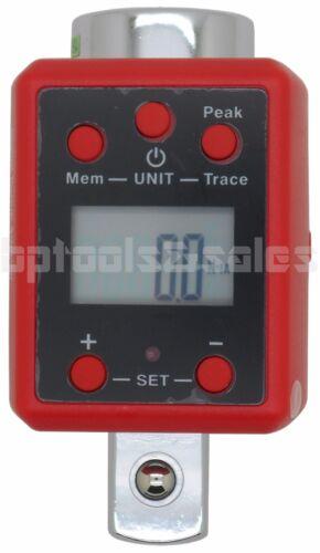 "3//4/"" DR Digital Torque Wrench Adaptor Micro meter FT//LB LED 738 f//lb Microtorque"