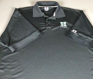 Harrison Hoyas Baseball Polo Shirt Mens XL Georgia High School Dri-Fit Alumni