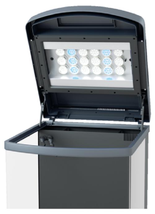 Sera LED Abdeckung Umrüstungs-Set Umrüstungs-Set Umrüstungs-Set für Marin Biotop Cube 130 Aquarium Abdeckung 8374b2