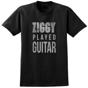 David Bowie Lyrics T-shirt Music Ziggy Legend Song Band Festival Tee Mens Ladies