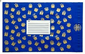 6x-Blue-Present-Gift-Pattern-Mailer-bags-Funky-Packaging-Wrapping-Post