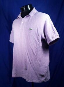 Lacost-Shirt-Purple-Short-Sleeve-Polo-Men-039-s-Size-5-Large