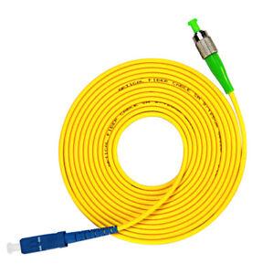 5M SC-SC SC Simplex 9//125 SingleMode SM Fiber Optic Cable Patch Cord  Jumper
