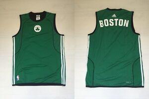 Boston Basket Canottiera Adidas 10200 Celtics Canotta Doubleface lKTF1Jc
