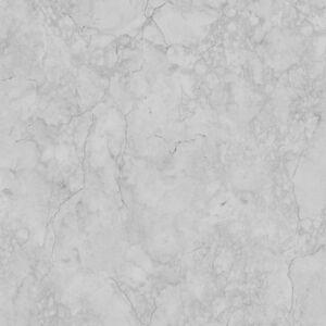 Gris-Plateado-Marmol-Papel-pintado-PALERMO-de-Lujo-Vinilo-9018