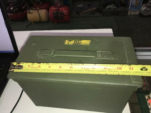 Metal Ammo Case 840 Crtg 5.56MM Ball M855 10 Round Clips LC-12C391-159 NO Ammo