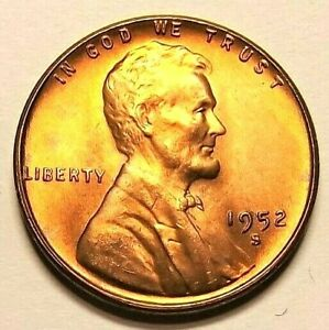 "1938-P Lincoln Wheat 1c/""BRIGHT/""GEM BU//RD Original Mint Luster from OBW roll."