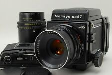 [Exc+++++] Mamiya RB67 Pro SD Medium Format Camera + 127mm,180mm Lens From Japan
