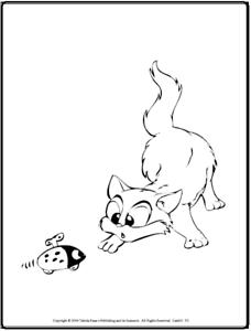 Details Zu Malbuch 49 Malvorlagen Beschäftigte Katzen Ausmalbilder Als Pdf Kinder Malen