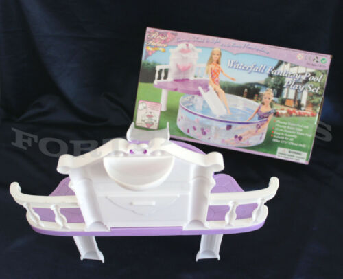2678 ROSE Palace DOLL HOUSE FURNITURE Waterfall Fantasy Pool SET