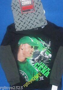WWE John Cena t-shirt Size 4-5 XS 6-7 S 8 M 10-12 L 14-16 XL New Short Sleeve